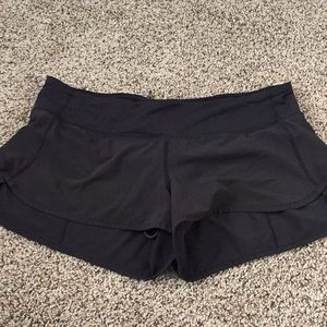 Used lululemon speed shorts size 10